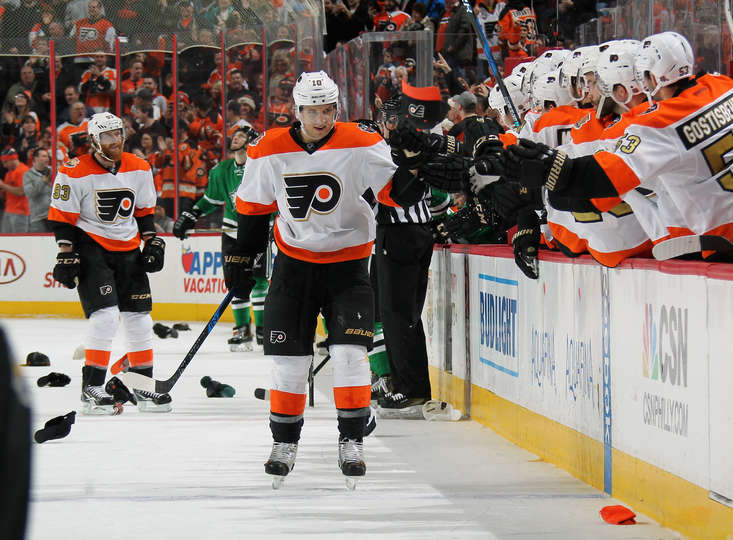 Flyers higher than cloud 9 after slamming home their 10thstraight!