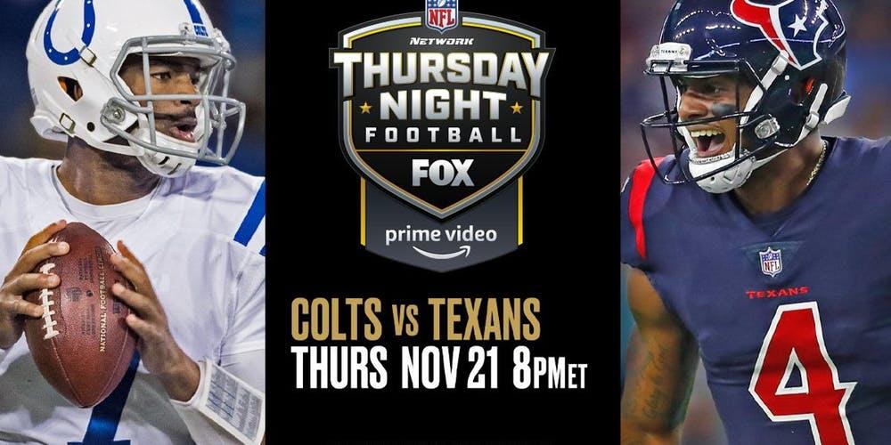NFL Week 12: Thursday Night Game Pick &Prediction
